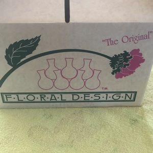 Floral design and the floral seven arranger